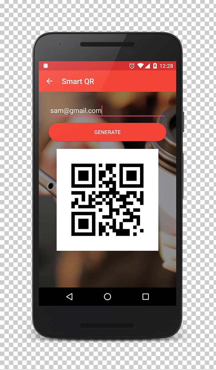 Smartphone Feature Phone QR Code Mobile Phones Barcode PNG, Clipart