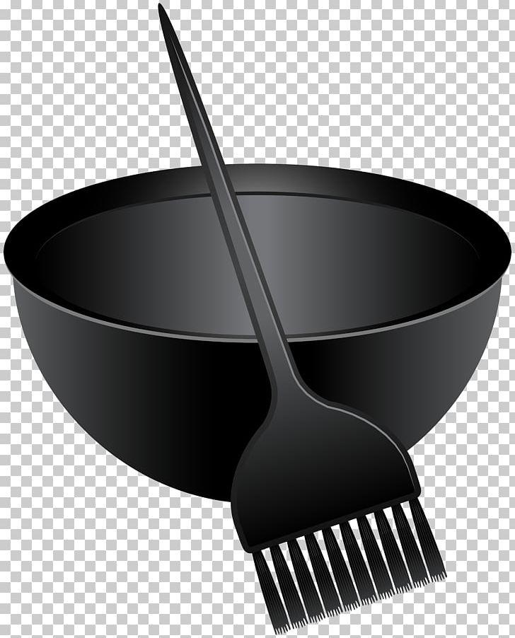 Hair Coloring Hairbrush Human Hair Color PNG, Clipart, Black And White, Black Hair, Bowl, Brown Hair, Brush Free PNG Download