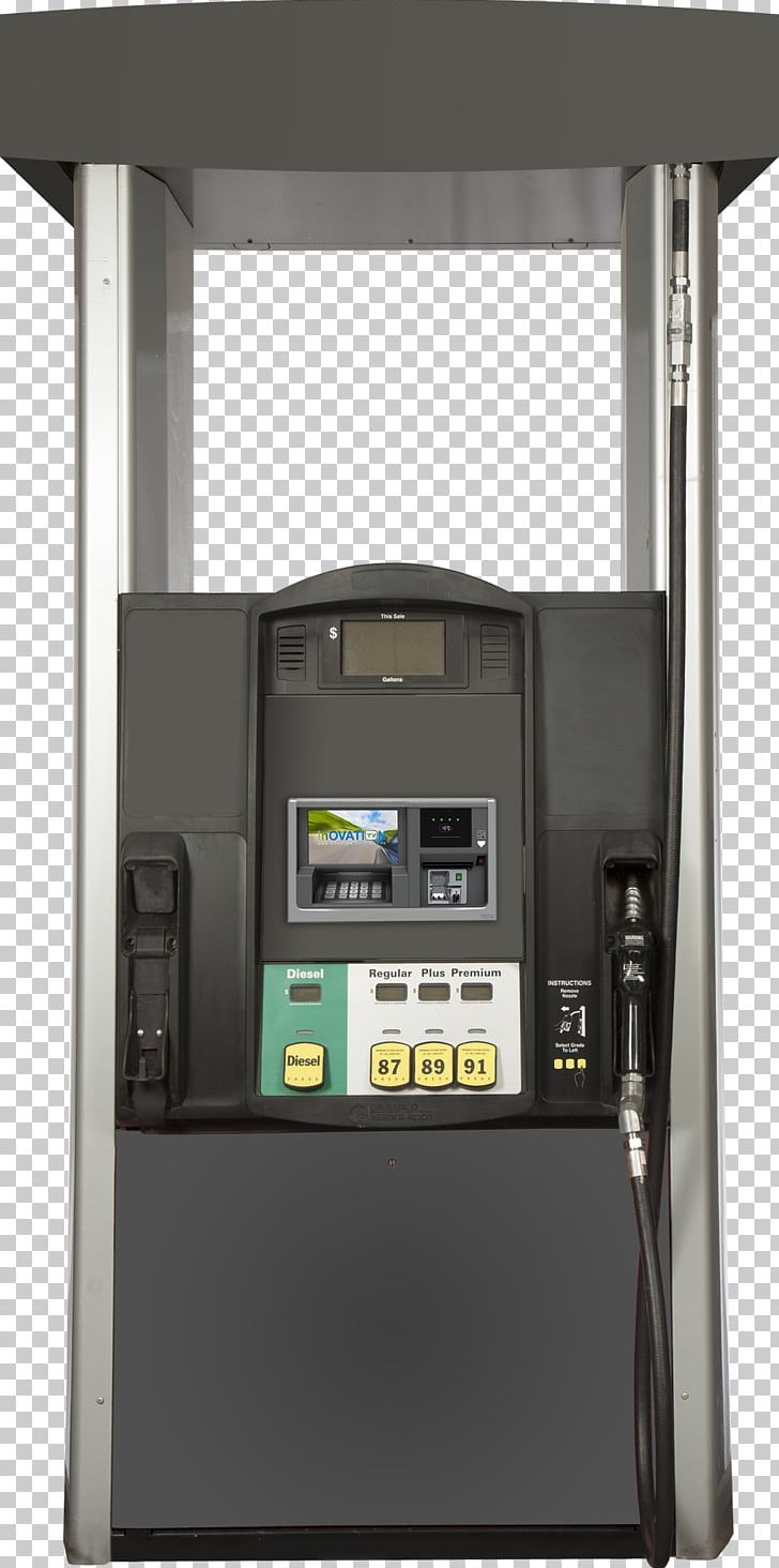 Fuel Dispenser Gilbarco Veeder-Root Pay At The Pump PNG