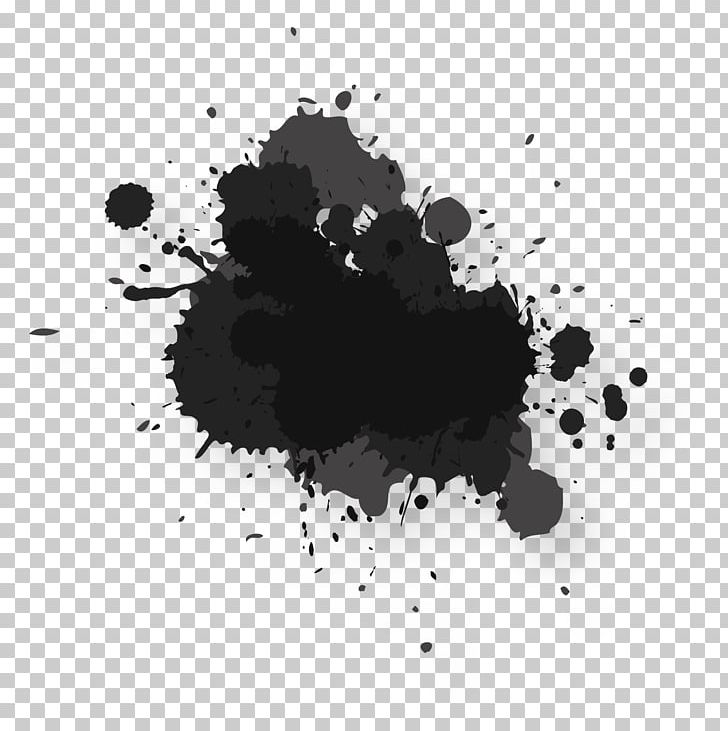 Black Watercolor Painting Ink Png Clipart Abstract