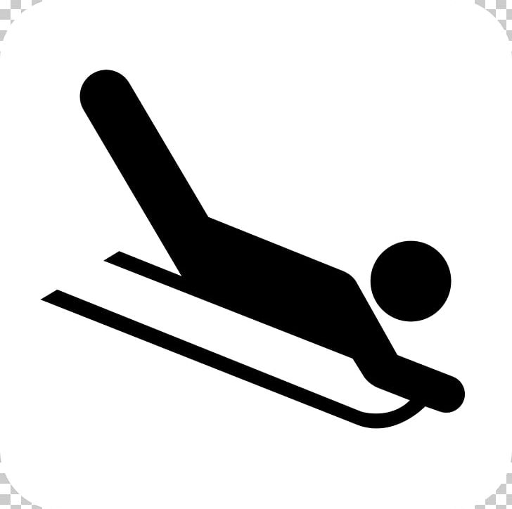 Sledding Computer Icons Toboggan PNG, Clipart, Black And White, Computer Icons, Download, Hand, Line Free PNG Download