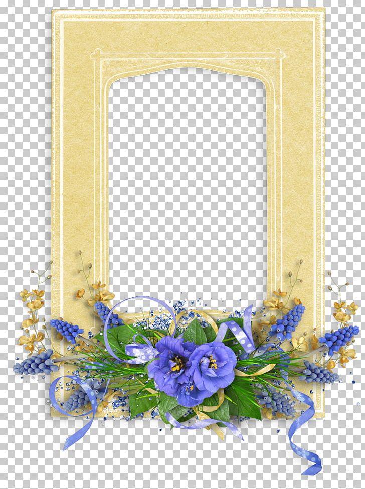 Floral Design Cut Flowers Flower Bouquet Frames PNG, Clipart, Blue, Cut Flowers, Decor, Digital Photo, Floral Design Free PNG Download
