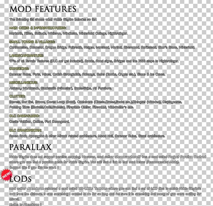 Wyrmstooth The Elder Scrolls V: Skyrim Nexus Mods Document