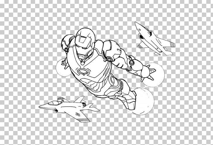Iron Man Spider Man Coloring Book Drawing Png Clipart Angle Arm