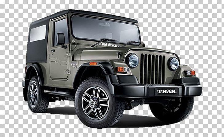 Mahindra & Mahindra Car Mahindra Thar CRDe Mahindra Bolero PNG