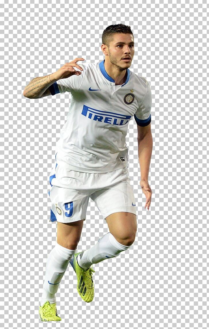 low priced ed7c2 1666c Mauro Icardi Jersey Team Sport Inter Milan Football PNG ...