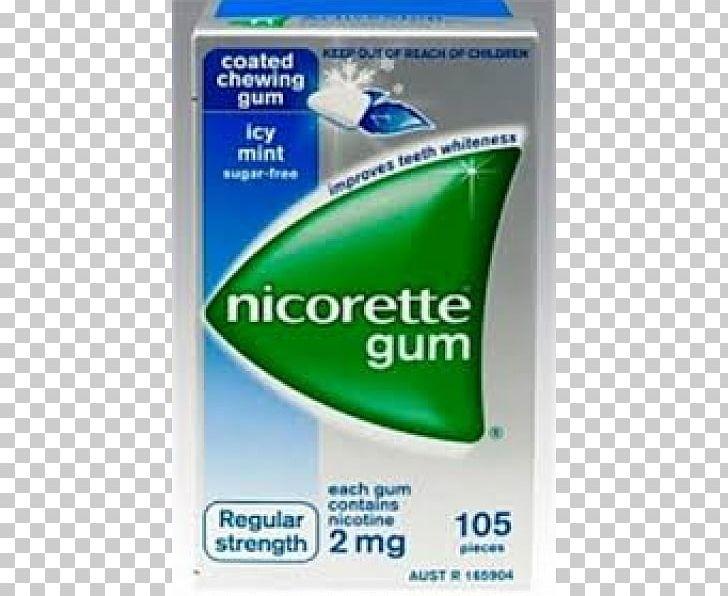 Chewing Gum Nicotine Gum Nicorette Nicotine Replacement