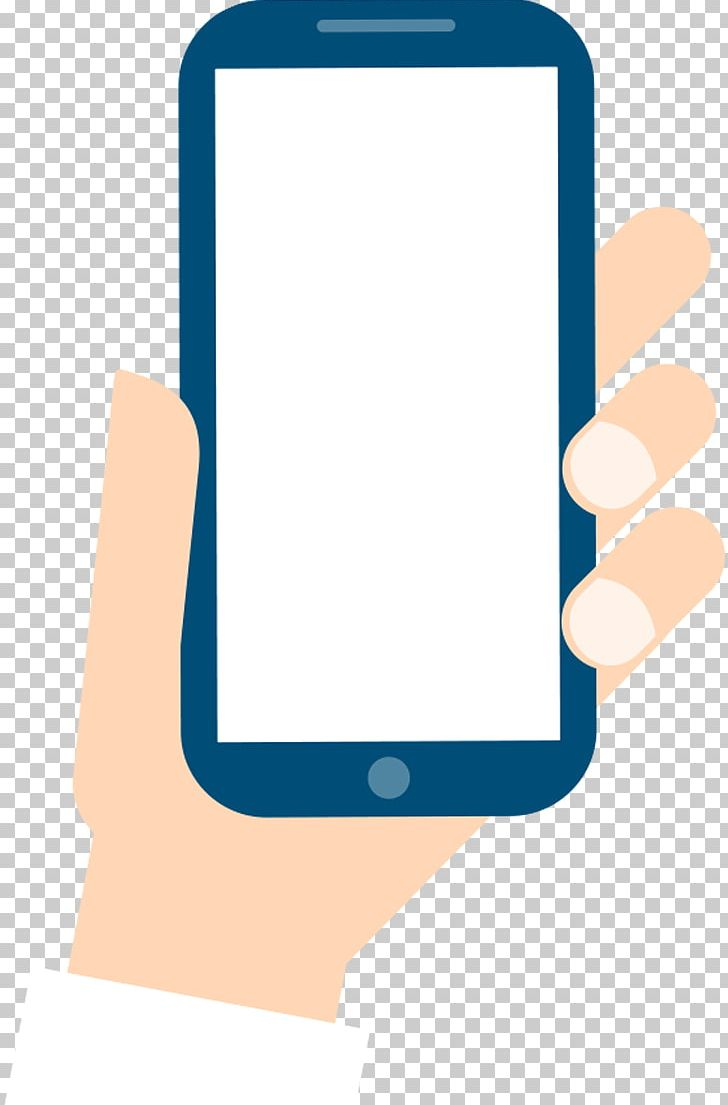 Smartphone Mobile Phone Cartoon PNG, Clipart, Angle, Blue, Blue Phone, Brand, Cartoon Hand Phone Free PNG Download