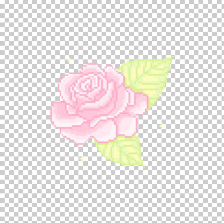 Garden Roses Pixel Portable Network Graphics Flower Kawaii PNG, Clipart, Aesthetic, Bit, Cuteness, Cut Flowers, Floral Design Free PNG Download