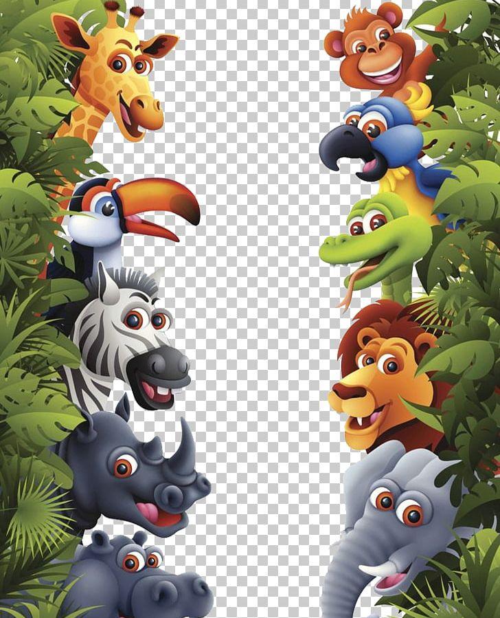 Jungle Tropical Rainforest Animal Lion PNG, Clipart, Amazon Rainforest, Among The Jungle, Animals, Cartoon, Cartoon Tropical Rainforest Free PNG Download