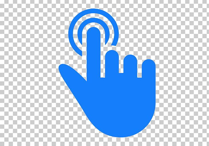 Computer Icons Finger Cursor PNG, Clipart, Area, Blue, Brand