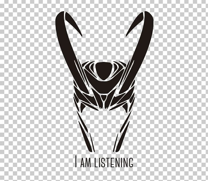 Loki Tattoo Thor Decal Png Clipart Art Black And White