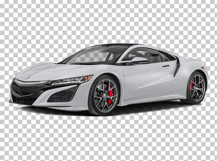 2018 Acura Nsx Honda 2017 Coupe Car Png Clipart