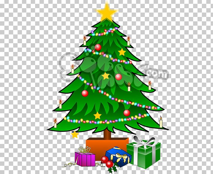 Christmas Tree Open Christmas Day PNG