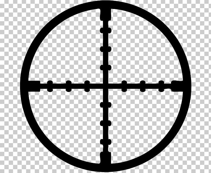 Reticle Telescopic Sight Computer Icons PNG, Clipart, Black And White, Circle, Computer Icons, Desktop Wallpaper, Download Free PNG Download