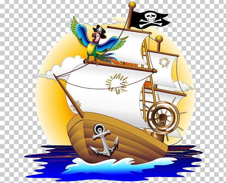 Parrot Piracy Cartoon Illustration PNG, Clipart, Boat, Cartoon, Corsari, Download, Encapsulated Postscript Free PNG Download