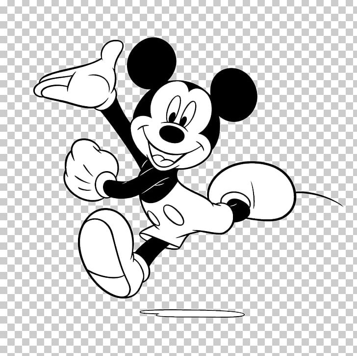 Mickey mouse black and white. Minnie goofy png clipart
