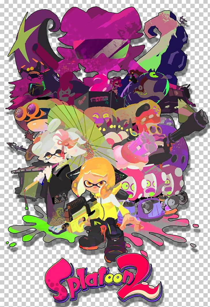 Splatoon 2 Minecraft Story Mode Wii U Video Game Png