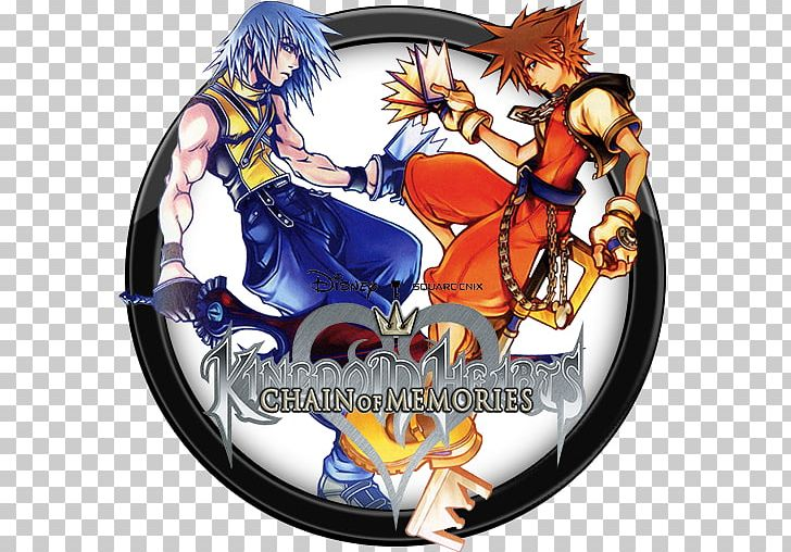 Kingdom Hearts: Chain Of Memories Kingdom Hearts Re:coded Kingdom Hearts II PlayStation 2 PNG, Clipart, Action Roleplaying Game, Anime, Chain, Computer Wallpaper, Fiction Free PNG Download