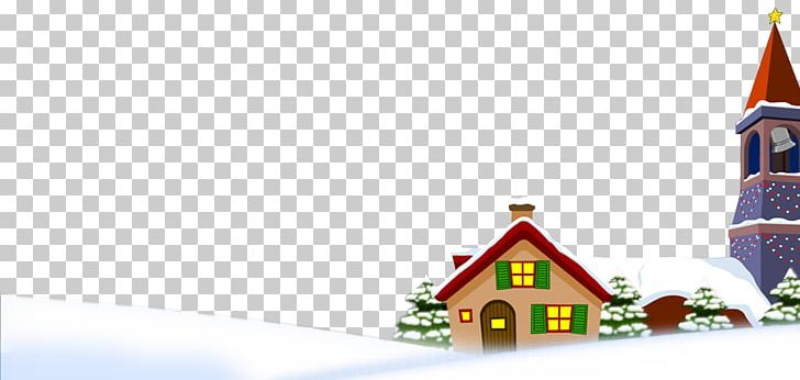 Snow Winter House Png Clipart Cartoon Chinese New Year Christmas Christmas Decoration Christmas Lights Free Png