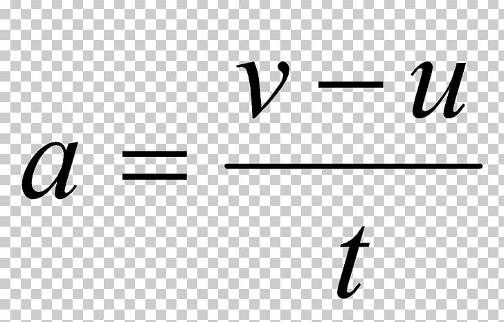 Acceleration formula angle area. Equation science velocity png
