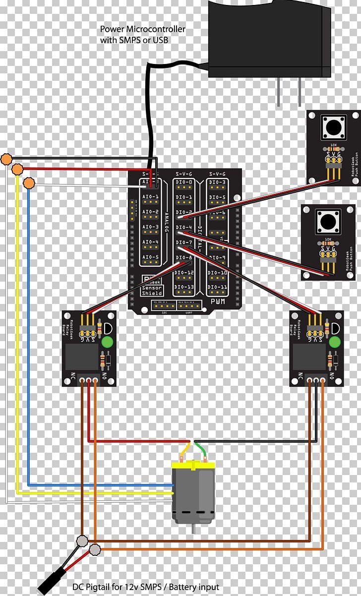 Linear Actuator Relay Wiring Diagram