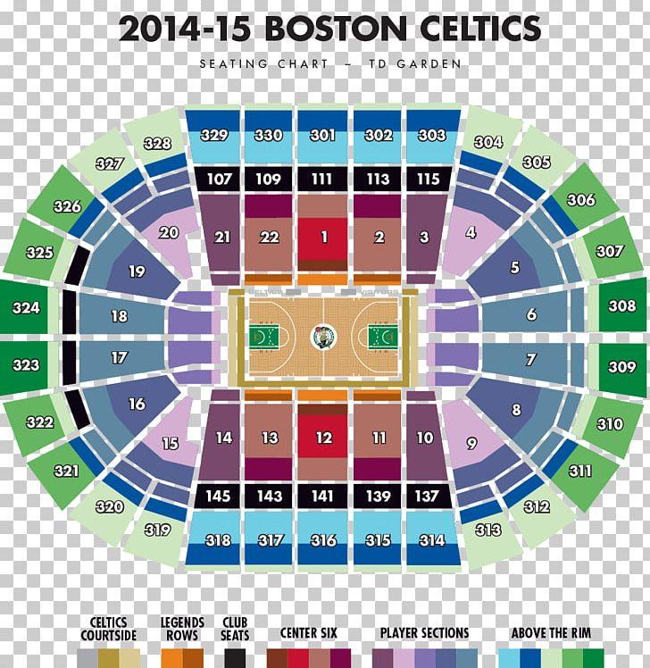 Celtics Seating Map on