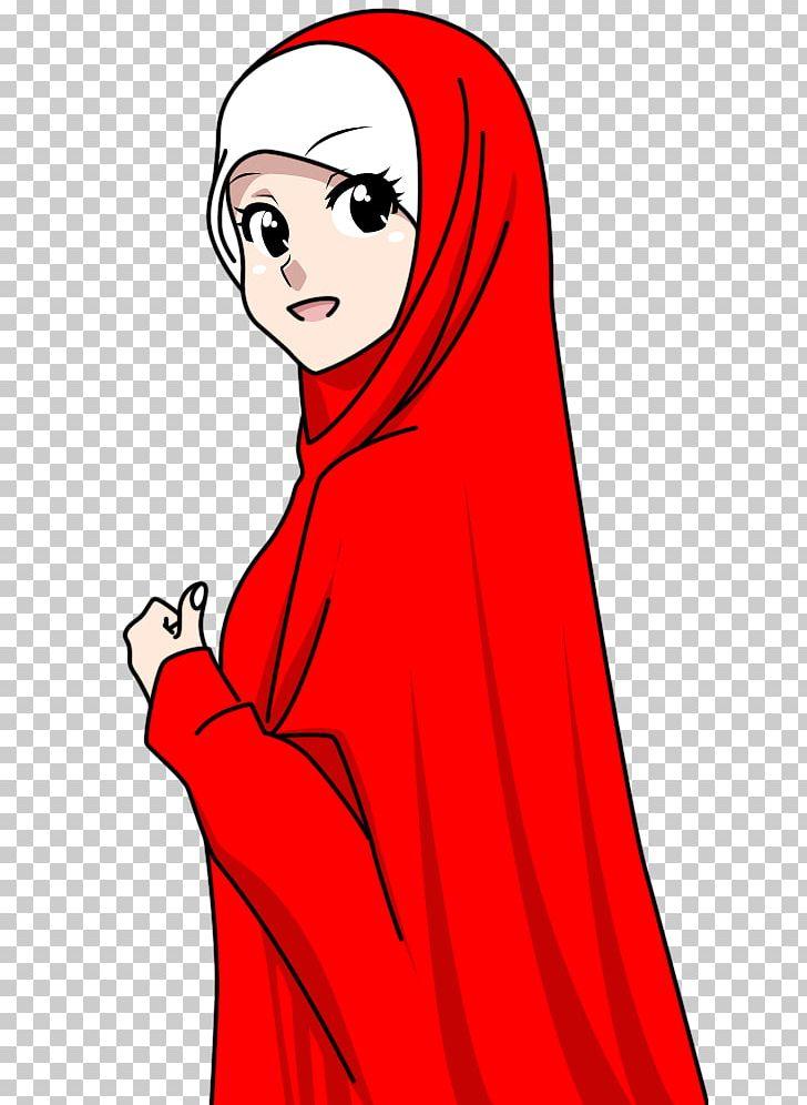Muslim Islamic Art Drawing Hijab Png Clipart Anime Art