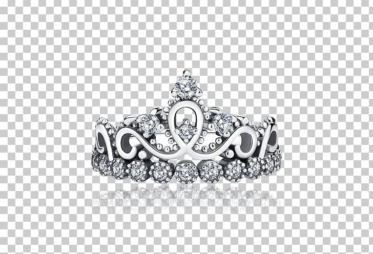 Princess Crown Ring Tiara Silver PNG, Clipart, Bling Bling, Body Jewelry, Bracelet, Charm Bracelet, Charms Pendants Free PNG Download