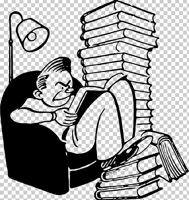 Reading Book PNG, Clipart, Arm, Art, Artwork, Black, Black And White Free PNG Download
