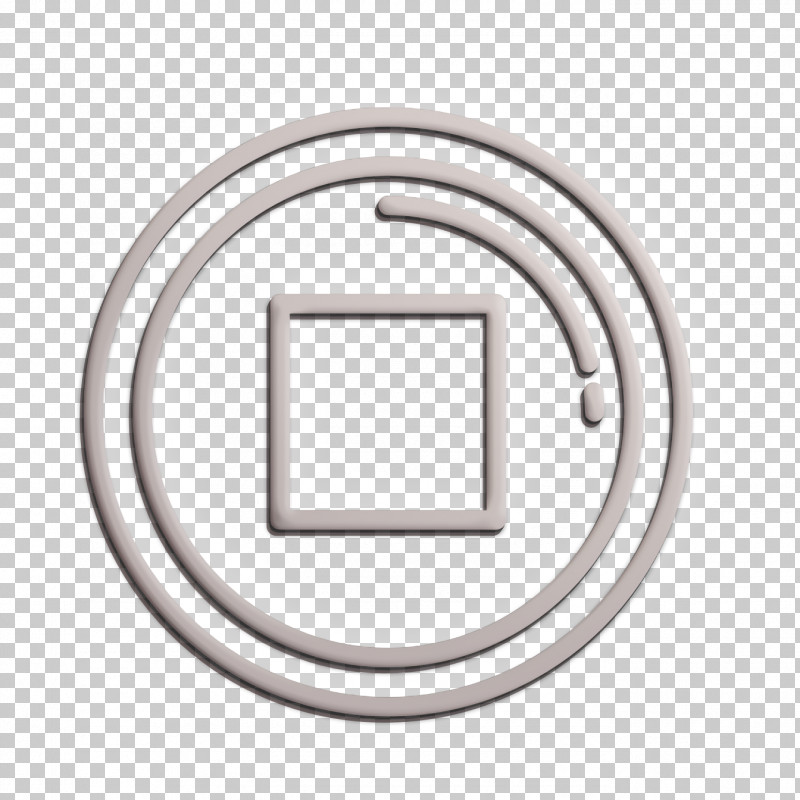 Stop Icon Movie  Film Icon PNG, Clipart, Circle, Metal, Movie Film Icon, Rectangle, Stop Icon Free PNG Download