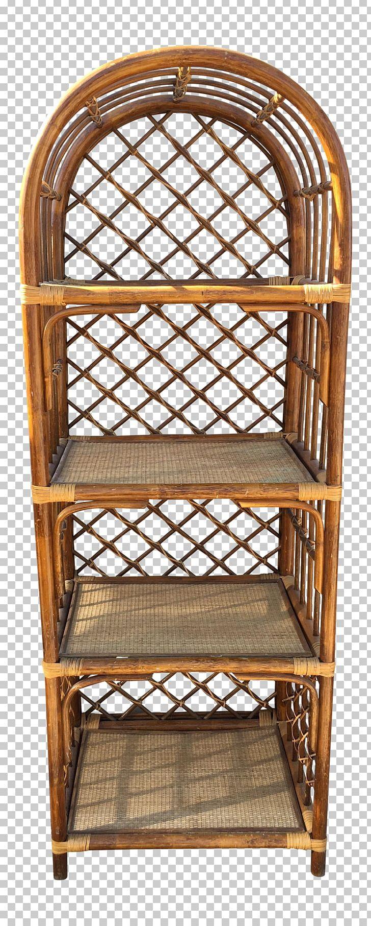 shelf table wicker bookcase basket png