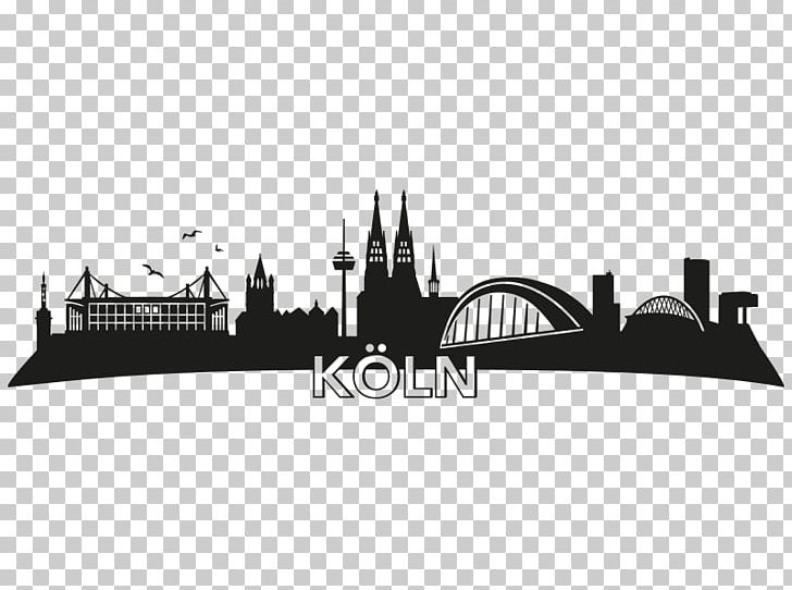 Cologne Skyline Silhouette Wall Decal Furniture Png Clipart Animals Bathroom Black Black And White Brand Free