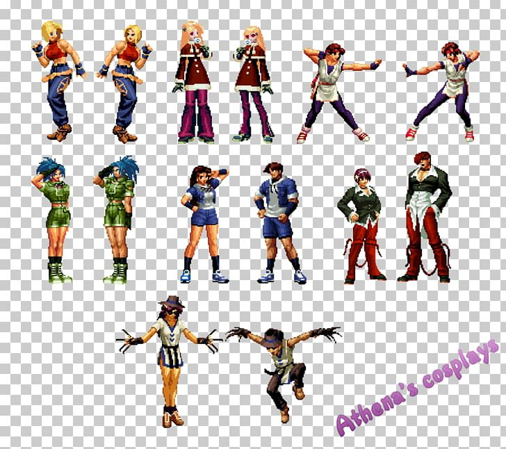 Athena Kyo Kusanagi Iori Yagami The King Of Fighters 2002