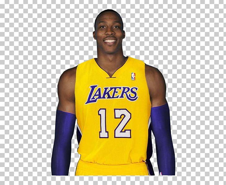 half off ef8de 97d65 Los Angeles Lakers Dwight Howard Jersey Cheerleading ...