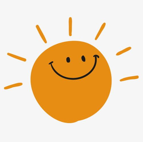 Sunshine smile. Png clipart cartoon