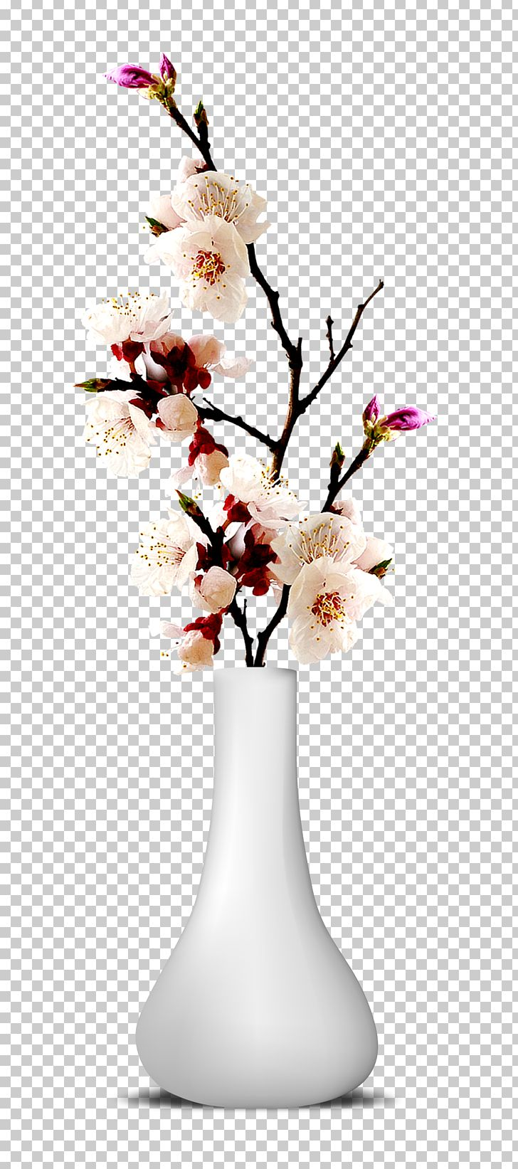 210 & Flower Vase PNG Clipart Artificial Flower Blossom Branch ...