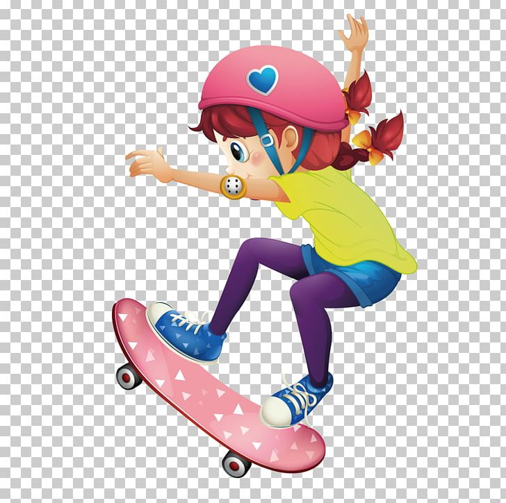 Image result for girl on skateboard drawing