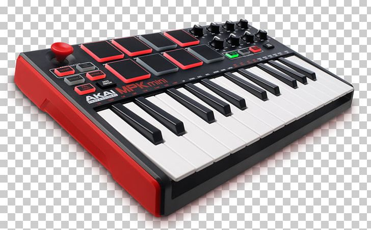 Laptop Akai MIDI Controllers Music Production Controller
