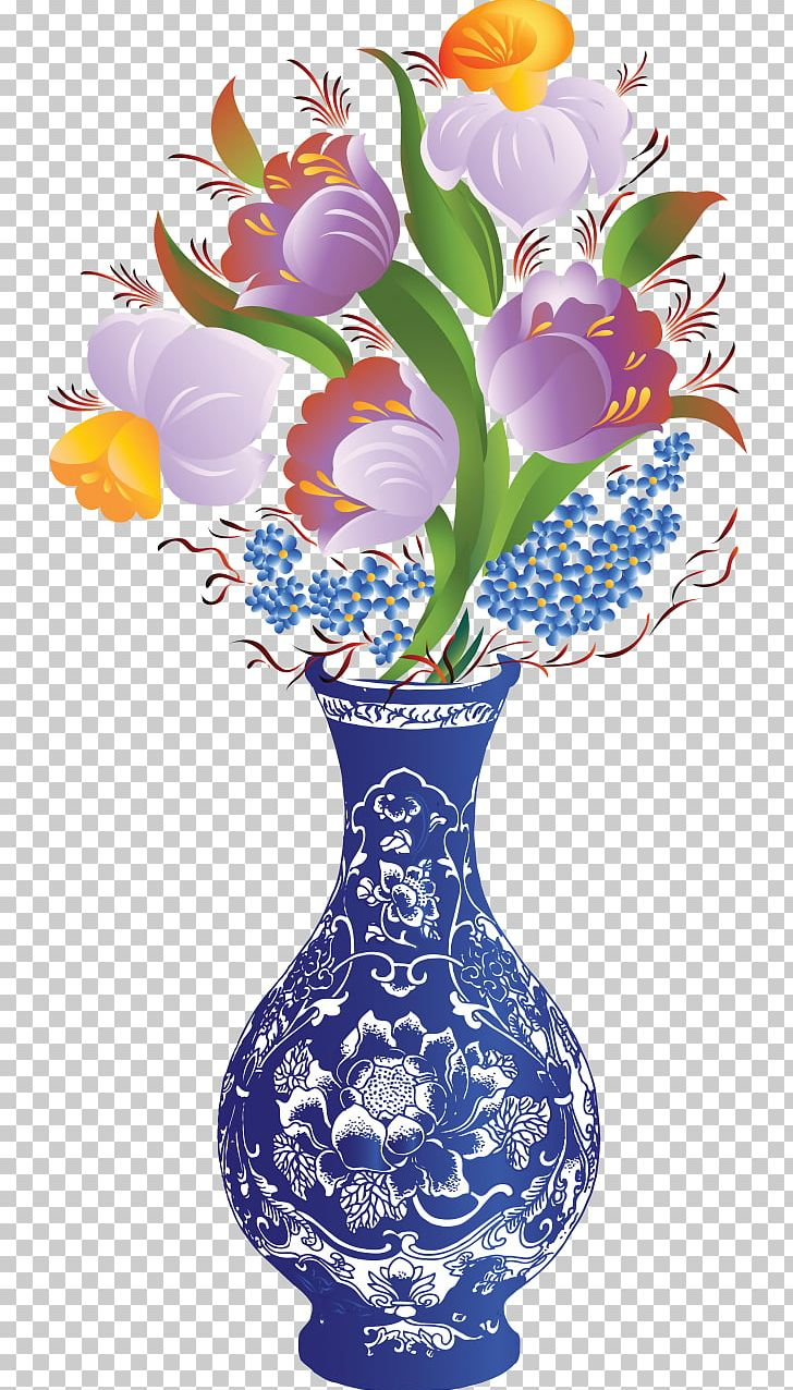 Easy Drawing Color Flower Vase Drawing Designs