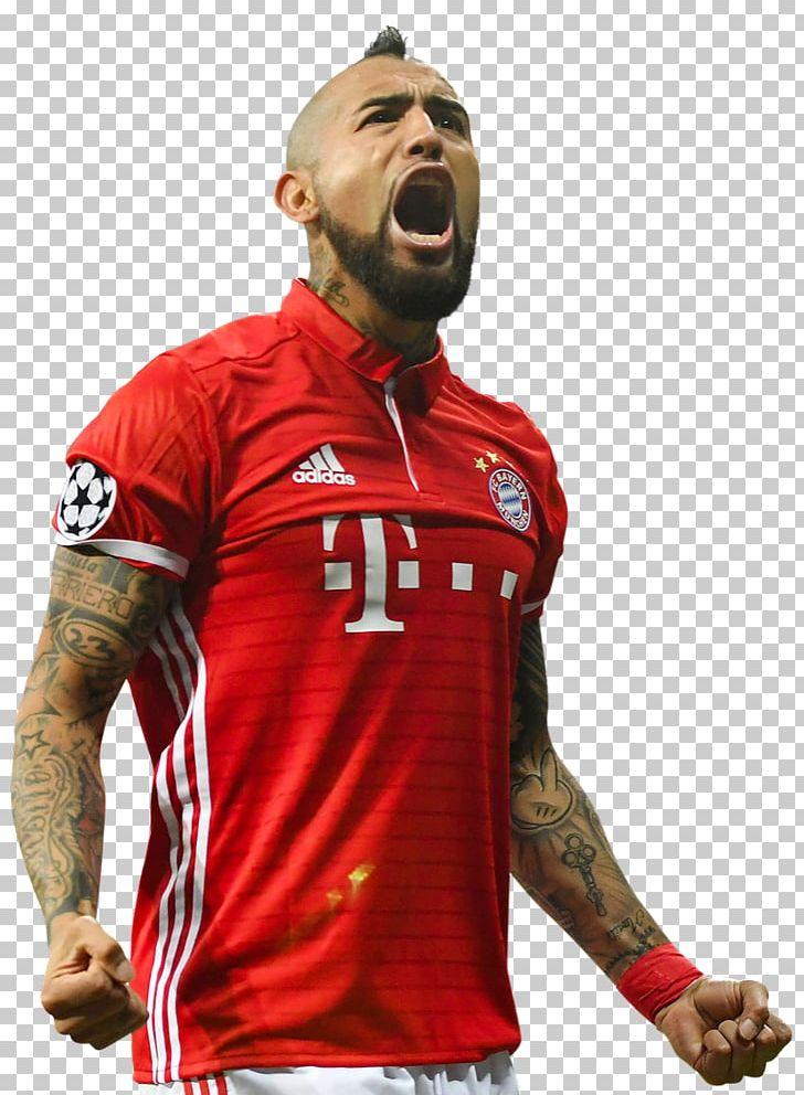 detailed look 3fffe bd89a Arturo Vidal Chile National Football Team FC Bayern Munich ...