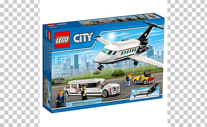 LEGO 60102 City Airport VIP Service Lego City Toy Block PNG, Clipart, Aircraft, Airline, Airplane, Cargo, Construction Set Free PNG Download