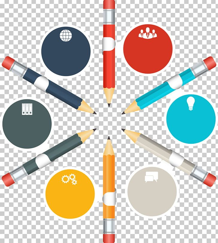 Pencil PNG, Clipart, Business Ppt, Circle Frame, Circle Logo, Color, Colored Pencil Free PNG Download