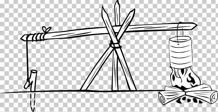 Campfire PNG, Clipart, Angle, Artwork, Black And White, Campfire, Camping Free PNG Download