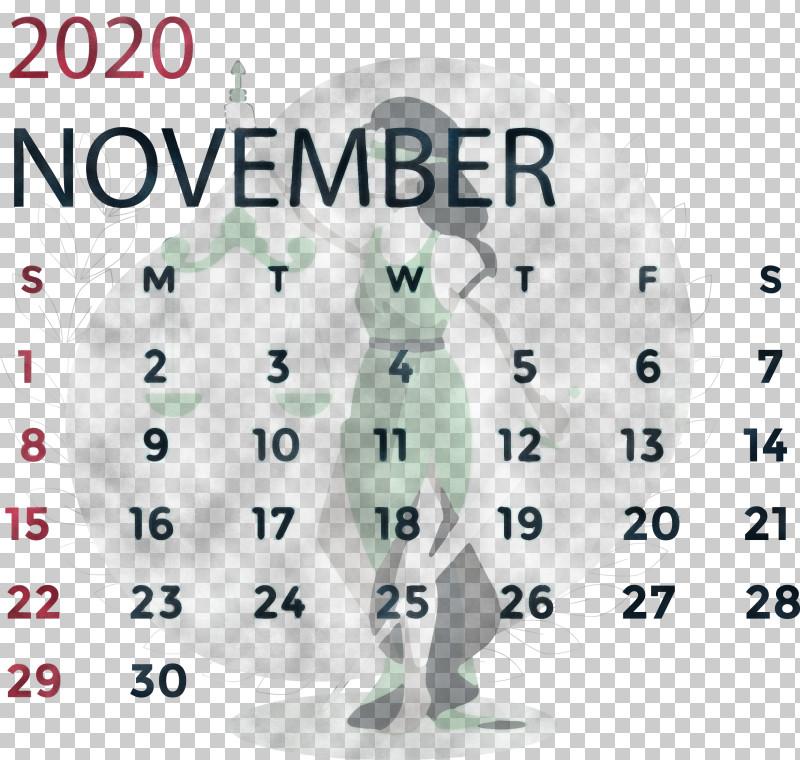 November 2020 Calendar November 2020 Printable Calendar PNG, Clipart, April, Area, Ball, Behavior, Calendar System Free PNG Download