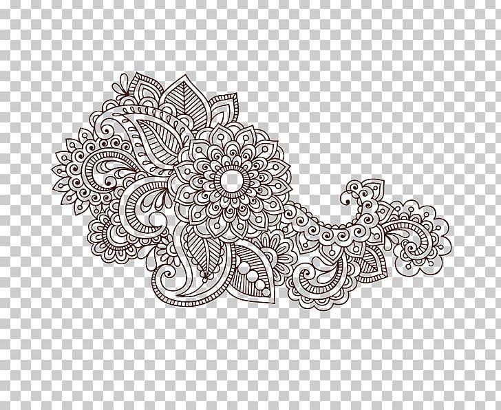 Colouring Pages Paisley Designs Coloring Book Mehndi Mandala