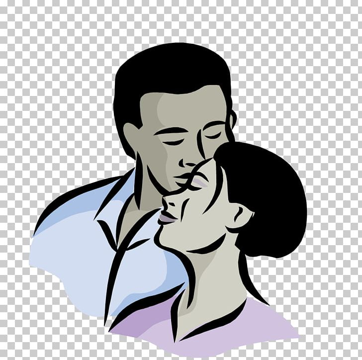 Kiss man. Woman png clipart arm