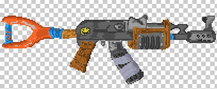 Pixel Art Fortnite Battle Royale Png Clipart Air Gun Ak
