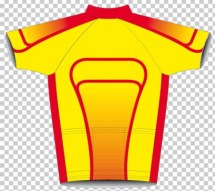 T-shirt Yellow Outerwear Sleeve PNG, Clipart, At Work, Brand, Clothing, Jersey, Line Free PNG Download