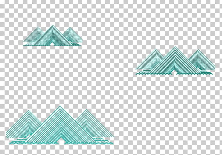 Blue Mountain Peak Triangle PNG, Clipart, Art Paper, Azure, Background, Blue, Chinese Style Free PNG Download